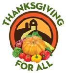 Thanksgiving for All Logo