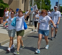 Walk Waterbury Group of women