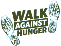 Walk Against Hunger logo